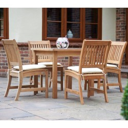 Bridgman Teak 4 Seater Dining Set