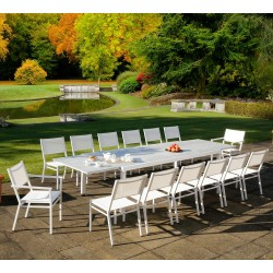 Barlow Tyrie Equinox 12 Seater Dining Set