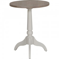 Neptune Suffolk Tall Side Table with Seasoned Oak Top