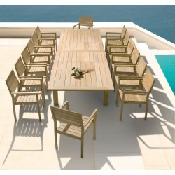 Barlow Tyrie Apex 14 Seater Dining Set
