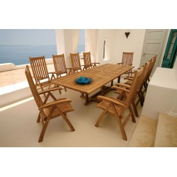 Barlow Tyrie Arundel 10 Seater Dining Set