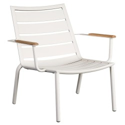 Alexander Rose Fresco Shell Lounge Chair