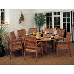 Barlow Tyrie Drummond 8 Seater Dining Set