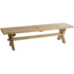 Alexander Rose Pine Farmers Bench 6ft