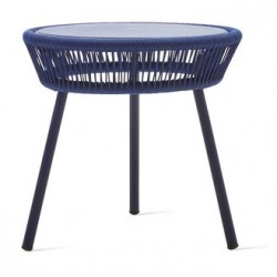 Vincent Sheppard Loop Side Table Rope in Indigo