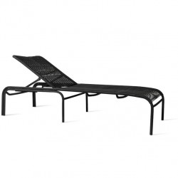 Vincent Sheppard Loop Sunlounger in Black