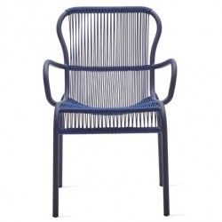 Vincent Sheppard Loop Dining Chair Rope in Indigo