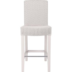Neptune Montague Lloyd Loom High Back Bar Stool