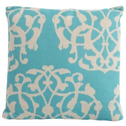 Bramblecrest Marrakesh Aqua Season-Proof Square Scatter Cushion