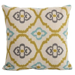 Bramblecrest Moroccan Citrus Square Season-Proof Scatter Cushion