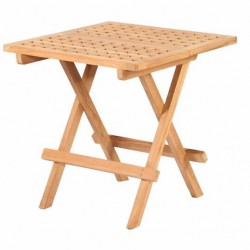 Bramblecrest Ludlow Square Folding Teak Picnic Table