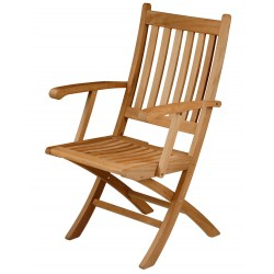 Barlow Tyrie Ascot Folding Carver Chair