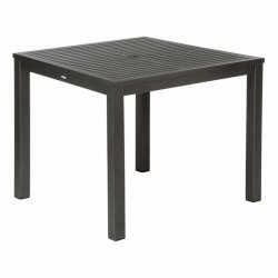 Barlow Tyrie Aura 90cm Square Dining Table (Graphite)
