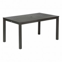 Barlow Tyrie Aura 150cm Rectangular Dining Table (Graphite)