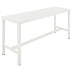 Barlow Tyrie Aura 200cm Rectangular High Dining Table (Arctic White)