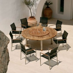 Barlow Tyrie Equinox & Mercury 8 Seater Dining Set