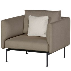Barlow Tyrie Layout DS Armchair with High Arms (Forge Grey)