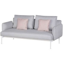 Barlow Tyrie Layout DS Two Seater Settee with Low Arms (Arctic White)