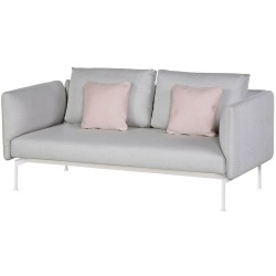 Barlow Tyrie Layout DS Two Seater Settee with High Arms (Arctic White)