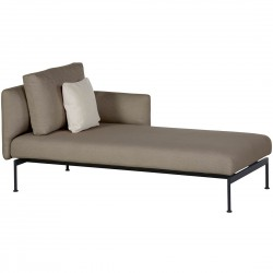Barlow Tyrie Layout DS Single Chaise Lounge with Low Arms (Forge Grey)