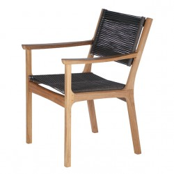 Barlow Tyrie Monterey Armchair with Cord Seat and Back