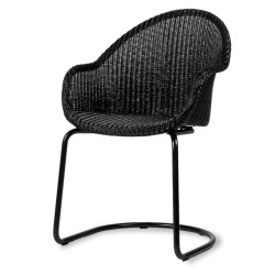 Vincent Sheppard Avril HB Dining Chair Black Cantilever Base