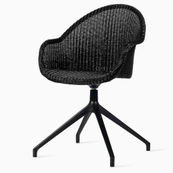 Vincent Sheppard Avril HB Dining Chair Black Swivel Base