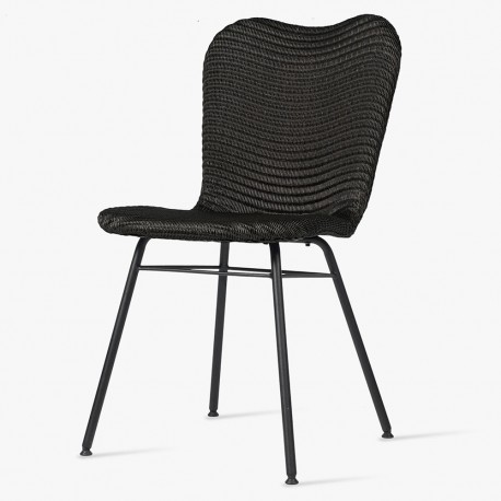 Vincent Sheppard Lily Dining Chair All Black Gf Amp I Co