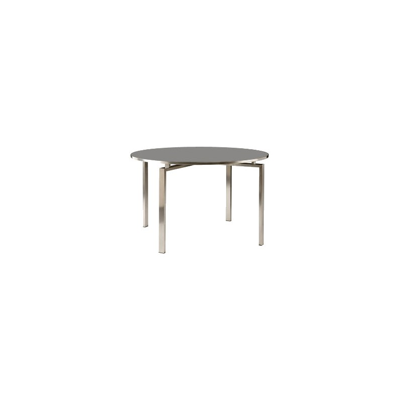 Barlow tyrie mercury 120cm round dining table with glass for Glass top dining table next
