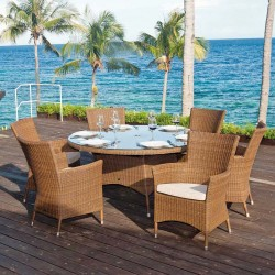 Alexander Rose San Marino 6 Seater Dining Set