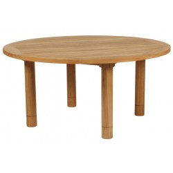 Barlow Tyrie Drummond 150cm Round Teak Dining Table
