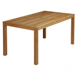 Barlow Tyrie Linear 150cm Rectangular Teak Dining Table