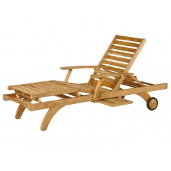 Barlow Tyrie Capri Ultra Sun Lounger with Pull Out Tray