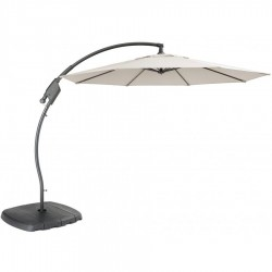 Kettler PF30 3.0m Free Arm Parasol with Sand & Water Base