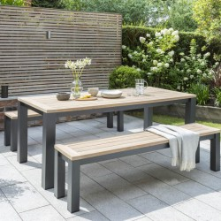 Kettler Elba Bench Seating Dining Set