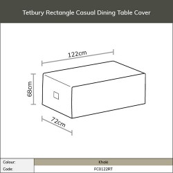 Bramblecrest Tetbury Rectangle Casual Dining Table FC0122RT
