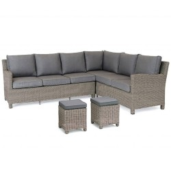 Kettler Palma Casual Dining Corner Rattan - Left Hand