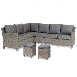 Kettler Palma Casual Dining Corner Rattan - Right Hand
