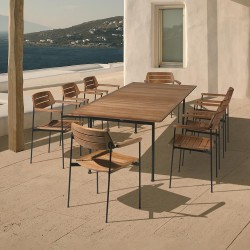 Barlow Tyrie Layout 8 Seater Dining Set