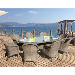 Bridgman Bali & Ohio 8 Seater Dining Set