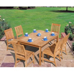 Bridgman Teak 6 Seater Dining Set