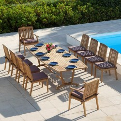 Barlow Tyrie Chesapeake 10 Seater Dining Set