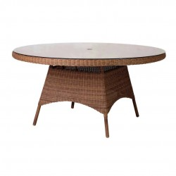 San Marino 150cm Round Table inc. Glass