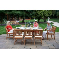 Bridgman Teak 8 Seater Dining Set