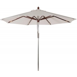 Neptune Antibes 3.5m Parasol with Natural Canopy