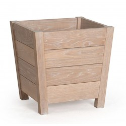 Neptune Bibury Small Oak Planter