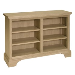 Neptune Henley 4ft Oak Wine Rack/Bookcase