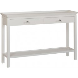 Neptune Aldwych Large Console Table - Snow