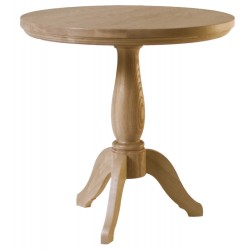 Neptune Henley 60cm Oak Side Pedestal Table