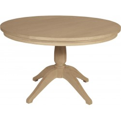 Neptune Henley 120cm Round Pedestal Oak Table